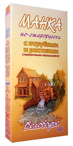 Манка по-старорусски 500 г (500 г)
