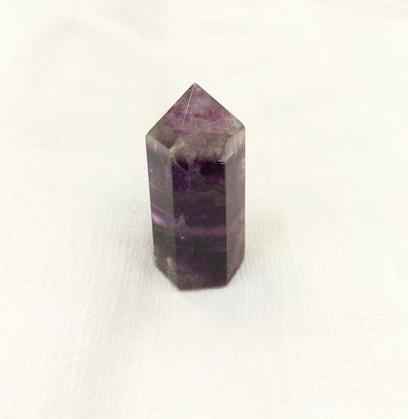 Мини флюорит цилиндр минеральный гармонизирующий (кристалл) 3,5 см (3,5см)
