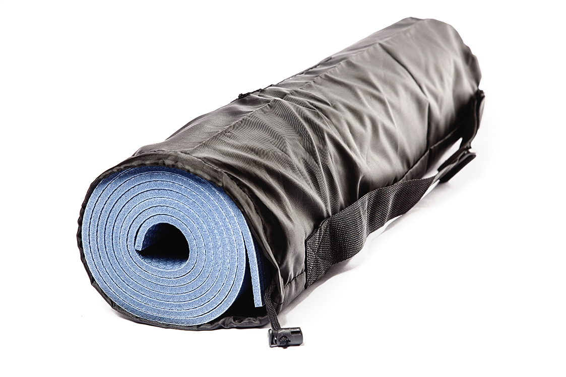 Чехол для коврика Симпл с карманом 60 см (15 см, 60 см, черный)