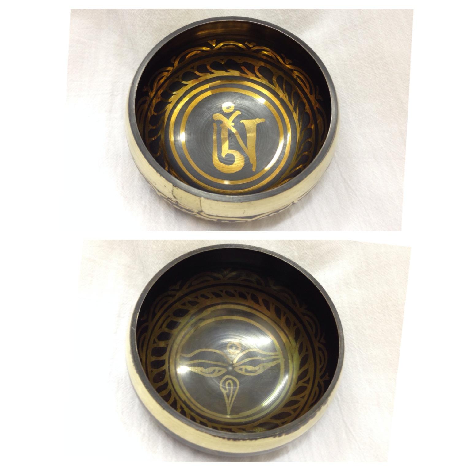 Чаша поющая литая Мини без барельефа 9 см  (SB02)