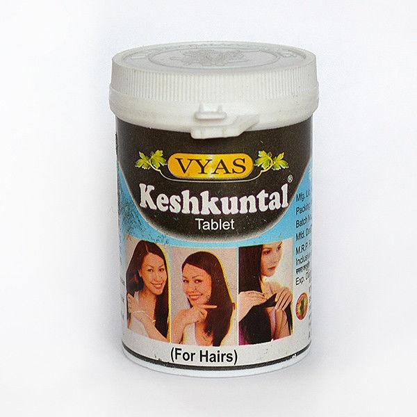 Кешкунтал в таблетках для роста волос keshkuntal Vyas (100 шт )