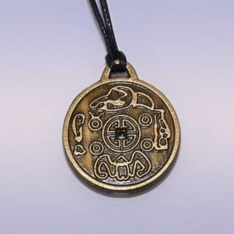 Амулет монета счастья - приносит удачу в жизни, дружбе, любви (BS002)