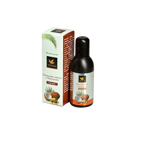 Кокосовое масло для тела с миндалем Veda Vedica