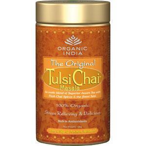 Чай в банке органический Туласи Масала/Tulsi masala tea Organic India