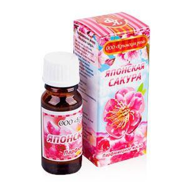 Японская сакура масло парфюмерное 10мл Крымская Роза.