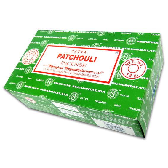 Благовония Патчули Сатья серия incense / Patchouli Satya (15 г) благовония аджаро сатья аjaro satya 45 г