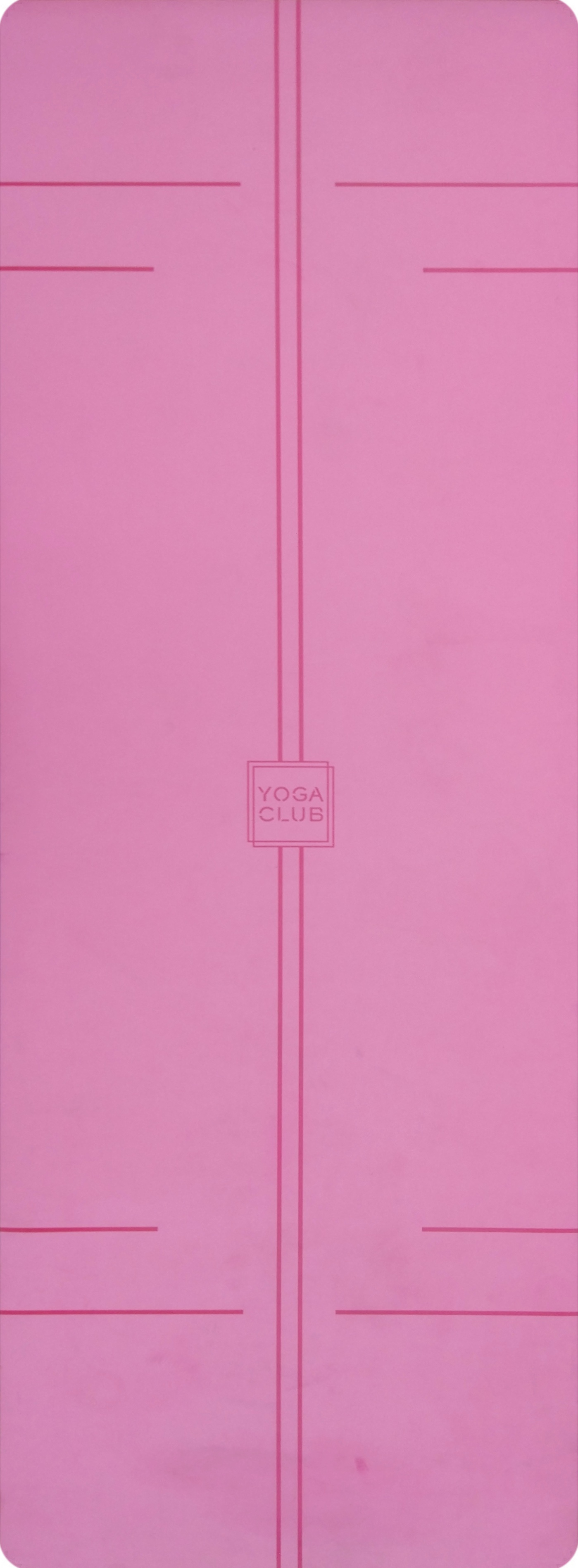 Коврик для йоги Pro YC из полиуретана и каучука (2,3 кг, 185 см, 4.5 мм, розовый, 68см) цена