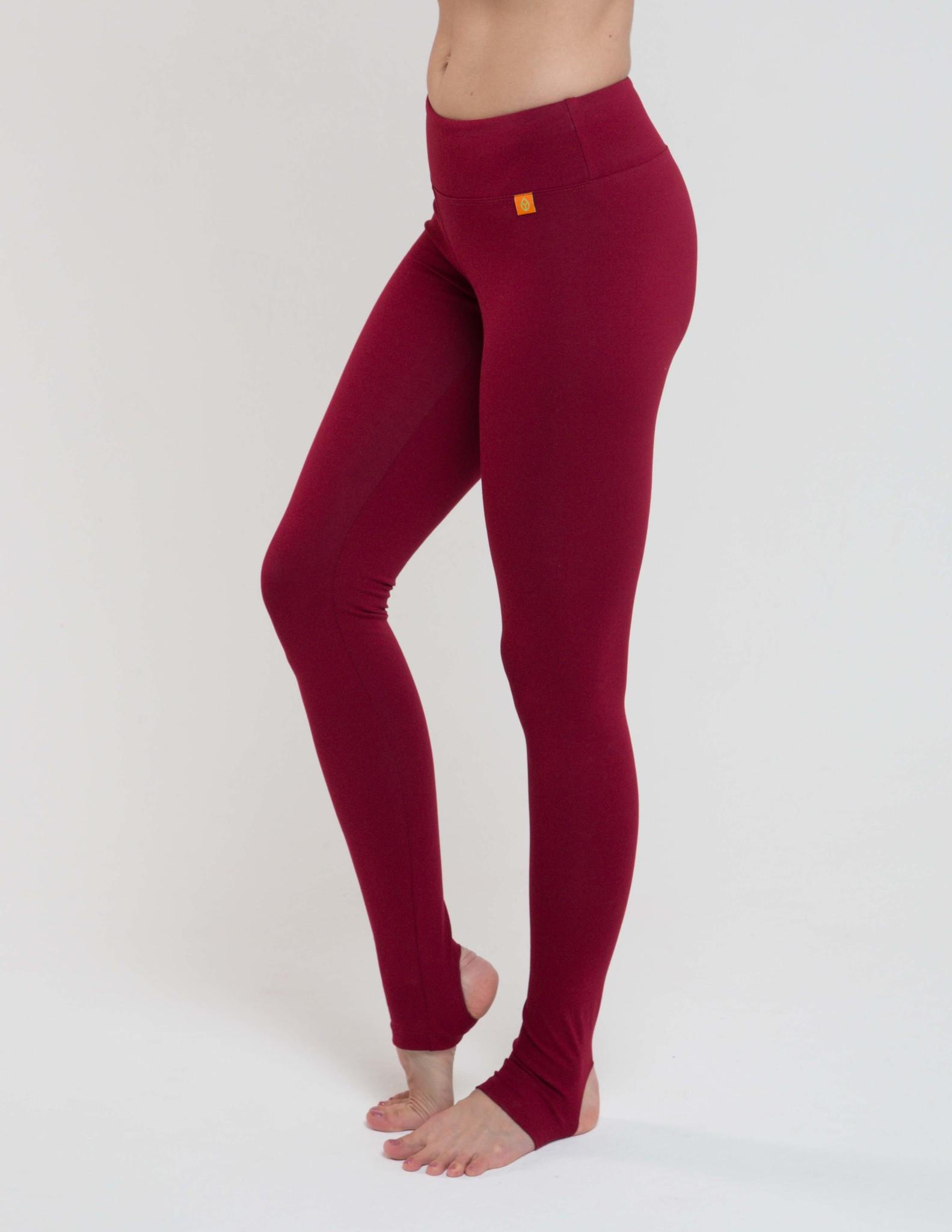 Тайтсы женские c открытой пяткой Miss Incredible YogaDress (0,3 кг, XS (42), бордо)