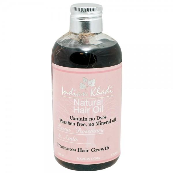 Масло для волос хна розмарин амла Indian Khadi ( Khadi 200 мл ) кондиционер для волос с арабским жасмином и могрой indian khadi