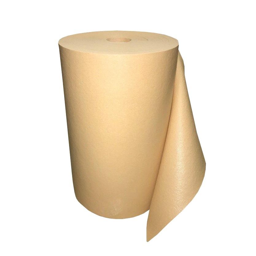Коврик для йоги в бухте Yin-Yang Studio OM (20 кг, 30 м, 4.5 мм, бежевый, 60см)