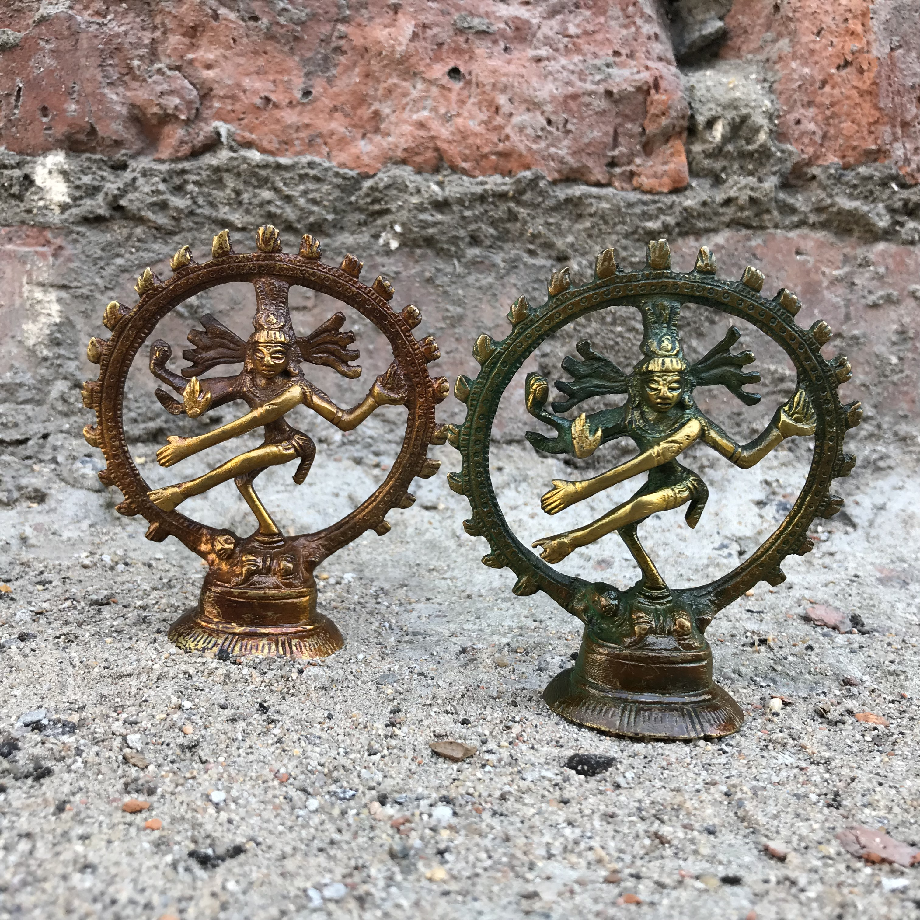 Шива натарадж статуэтка бронза 9,5см ( ассорти 0,4 кг ) статуэтка goebel все сюда quelle goebel 547688