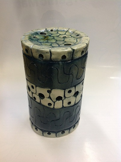 Подсвечник aqua для декора интерьера, ручная работа (зеленый)