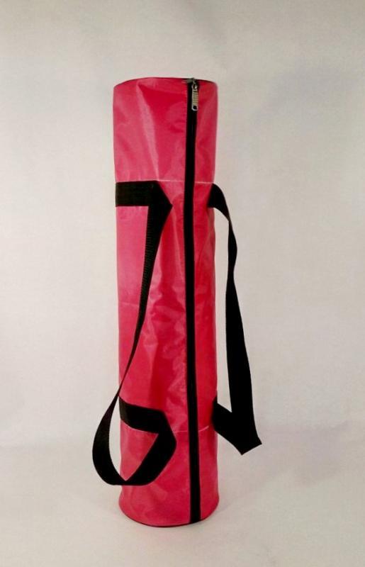 Сумка для коврика Нияма, розовая (0,3 кг, 16 см, 70 см, розовый) сумка хлопковая для коврика сутра dy 0 35 кг 70 см синий 18 см