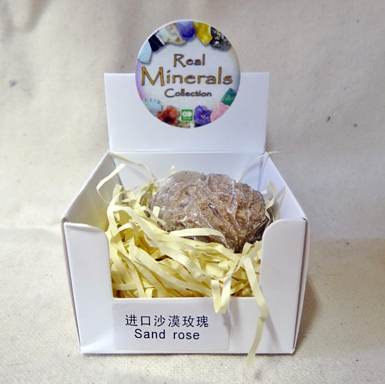 Роза Пустыни минерал/камень в коробочке Real Minerals Collection турмалин минерал камень в коробочке real minerals collection