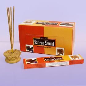 Благовония шафран сандал saffron sandal Nandita (0.1 кг, 15 г) благoвoния сандал chandan goloka 15 г 0 1 кг