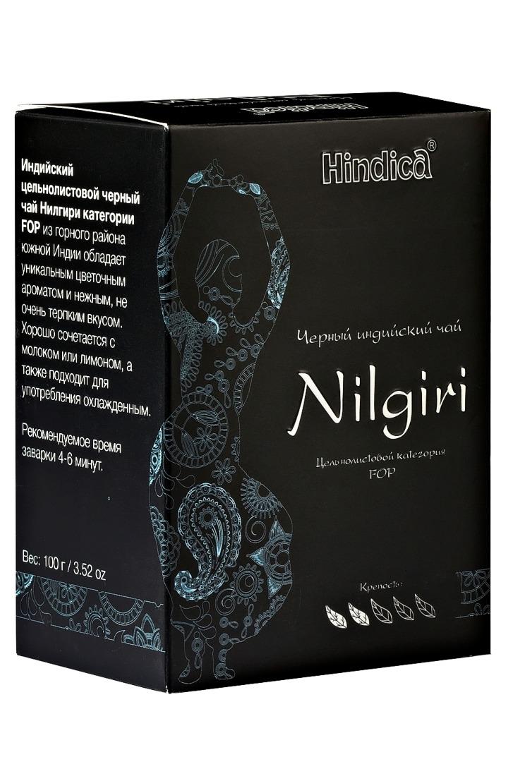 Чай индийский черный Нилгири Hindica (100 г)
