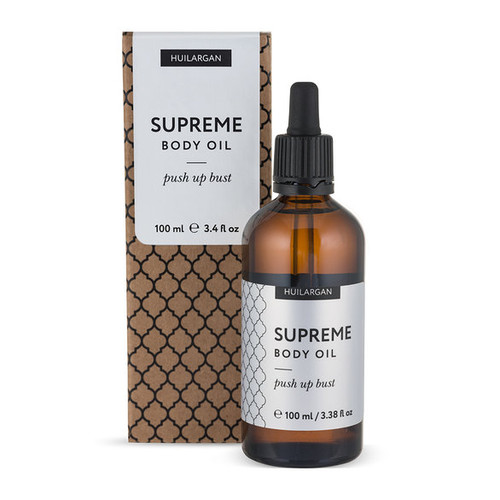 Масло мацерат для зоны декольте Supreme Body Oil Push Up Bust Huilargan (100 мл)