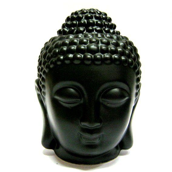 Аромалампа Будда черная керамика 13 см (черный) аромалампа styx лампа русский чай аромалампа