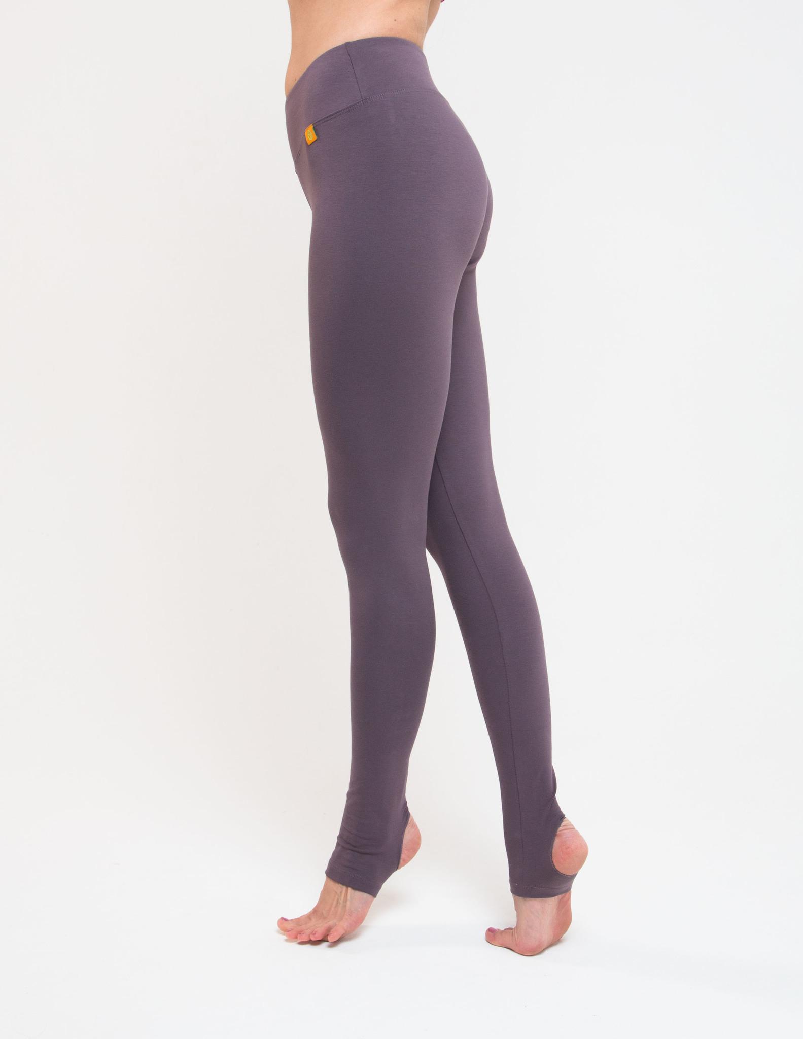 Тайтсы женские c открытой пяткой Miss Incredible YogaDress (0,3 кг, XL (50), серый / какао)
