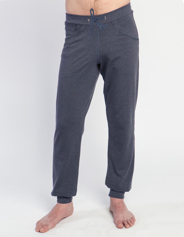 Штаны мужские Atman YogaDress (0,3 кг, L (50), индиго) glo story повседневные брюки мужские штаны для брюк штаны halle harvest брюки lxk71093 black l