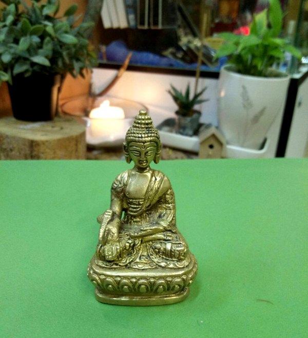 Статуэтка Будда бронза 7,5см (0,1 кг, 7,5 см)