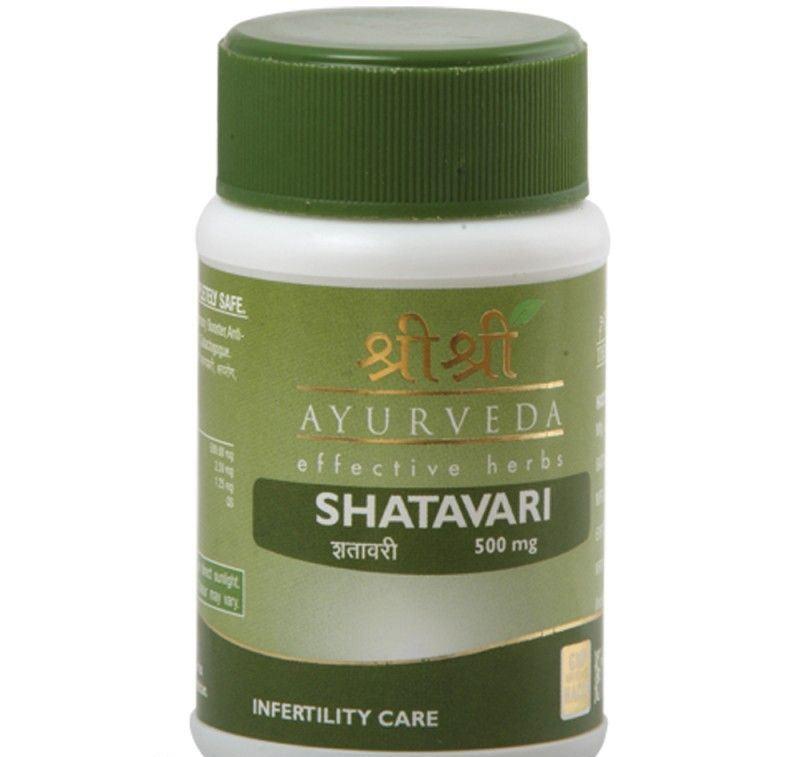 Шатавари Шри Шри в таблетках Shatavari Sri Sri (60 шт )