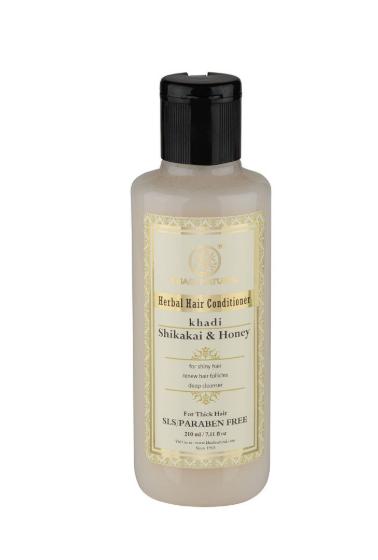 цена на Кондиционер для волос шикакаи мед без sls Khadi Natural (210 мл)