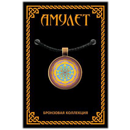 Амулет шри янтра светлая серии amulens (ALE011) цены