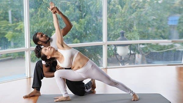 Занятия в вини-йоге
