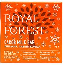 Фото Шоколад из кэроба с апельсином, имбирем и корицей Royal Forest