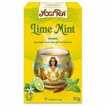 Фото Йога чай Лимон и мята\Yogi Tea Lime Mint