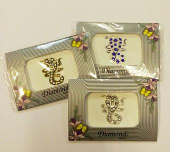 Фото Бинди тату кобра Diamond Bindi